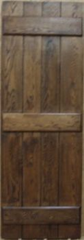 Distressed Oak Cottage Door from Period Style Made in the UK